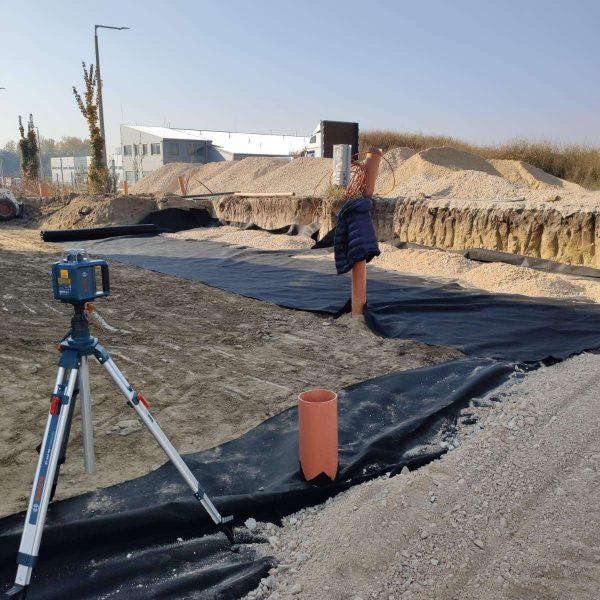 Gépi alapásás, sávalap ásás árak Székesfehérvár, Fejér megye